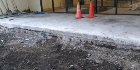 Waterproofing Concrete Slab Repair Preparation
